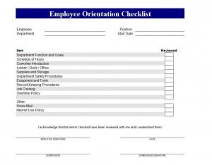 Watch more like Employee Training Checklist Format