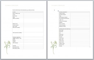 ... Funeral Planner Template By Funeral Planning Checklist Planning A Funeral  Checklist ...