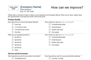 Customer Service Checklist