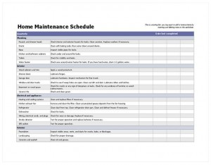 Free Preventative Maintenance Checklist
