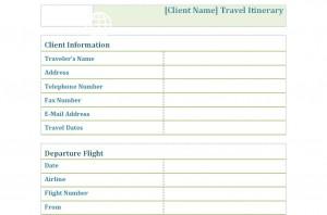 Free Trip Checklist
