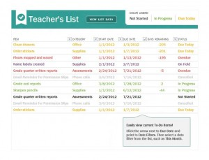 Free Teacher To Do Checklist