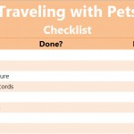 Traveling with Pets Checklist