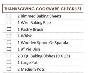 Thanksgiving Hosting for the 1st Time