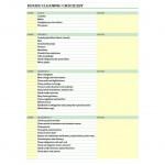 Free Housekeeping Checklist