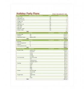 Free Party Checklist