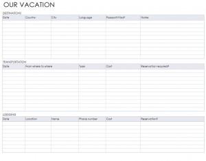Free Overseas Travel Checklist