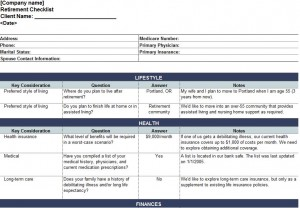 Free Estate Planning Checklist