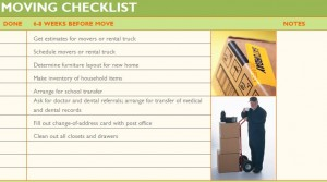 Free Moving Across Country Checklist