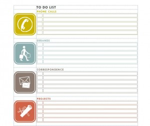 Things To Do Checklist Free