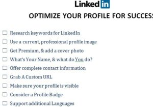 LinkedIn Optimize Template